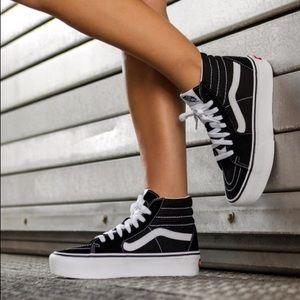 VANS sk8 hi platform sneakers